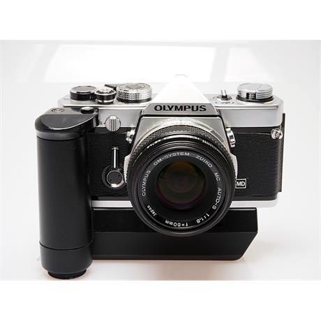 Olympus OM1 Chrome + 50mm F1.8 + Winder 2 thumbnail
