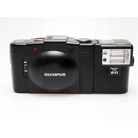Olympus XA2 + A11 Flash thumbnail
