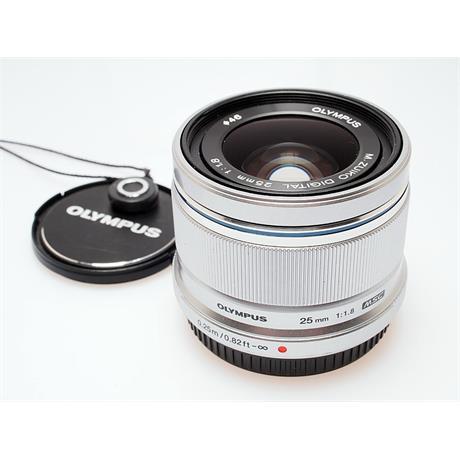 Olympus 25mm F1.8 M.Zuiko - Silver thumbnail