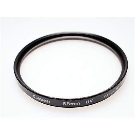 Canon 58mm UV thumbnail