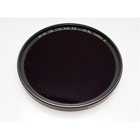 B+W 58mm Neutral Density 3x-10x Stop (110) SC F-Pro thumbnail