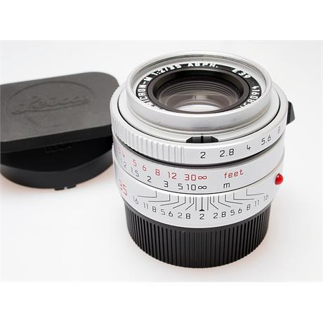Leica 35mm F2 Asph M Chrome (11674) thumbnail