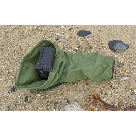 Wildlife Watching Supplies Single Layer Ultra-Light All in one camera & lens cover Olive - C80.2 thumbnail