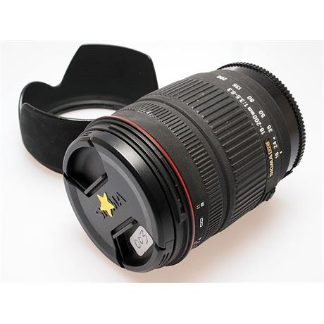 Sigma 18-200mm F3.5-6.3 DC - Sony AF thumbnail