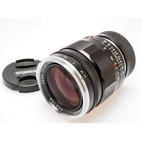 Voigtlander 35mm F1.2 Asph VM Nokton II thumbnail