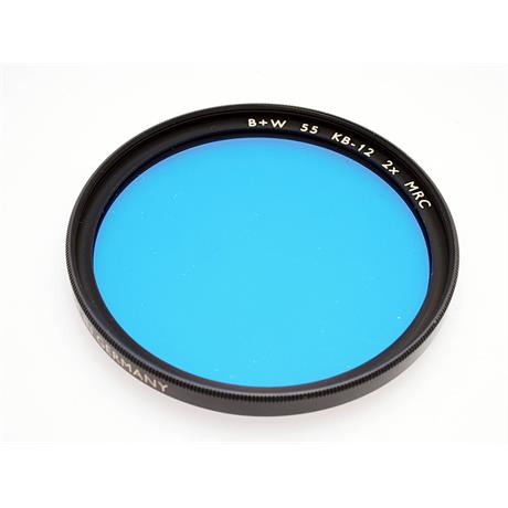 B+W 55mm Blue KB12 - Single Coated thumbnail