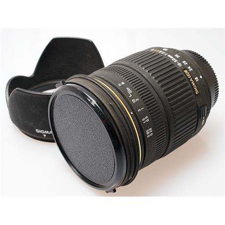 Sigma 18-50mm F2.8 EX DC - Nikon AF thumbnail