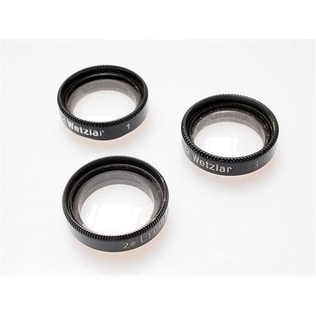 Leica Elpro 1/Elpik 2/Elpet 3 Close Up Filters thumbnail