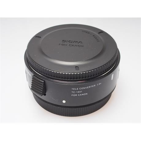 Sigma 1.4x Tele Converter TC-1401 - Canon EOS thumbnail