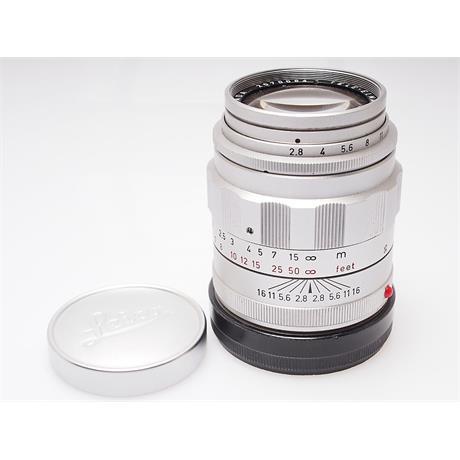 Leica 90mm F2.8 Tele Elmarit - Chrome 1st Vers thumbnail