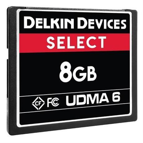Delkin 8GB Compact Flash CF 500x thumbnail