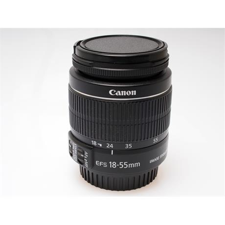 Canon 18-55mm F3.5-5.6 IS EFS II thumbnail