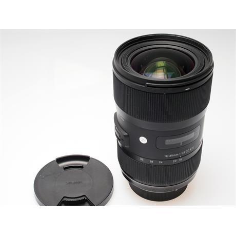 Sigma 18-35mm F1.8 DC HSM A - Nikon AF thumbnail