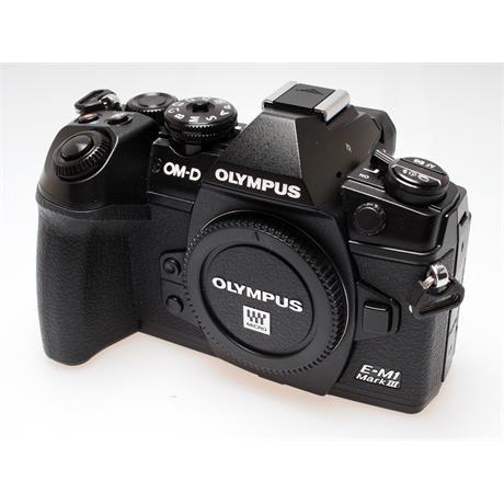 Olympus OM-D E-M1 III Black Body Only thumbnail