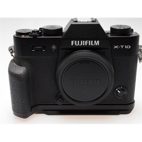 Fujifilm X-T10 Black Body + Handgrip thumbnail