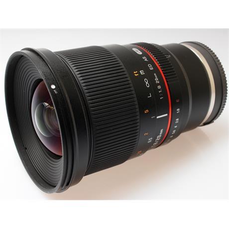 Samyang 20mm F1.8 ED AS UMC FE V - Sony E thumbnail