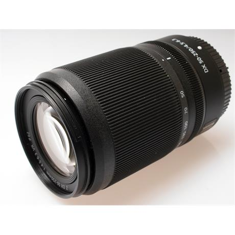 Nikon 50-250mm F4.5-6.3 Z DX VR thumbnail