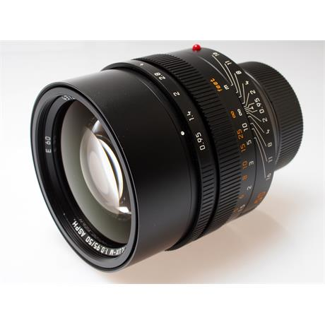 Leica 50mm F0.95 Asph M Black thumbnail