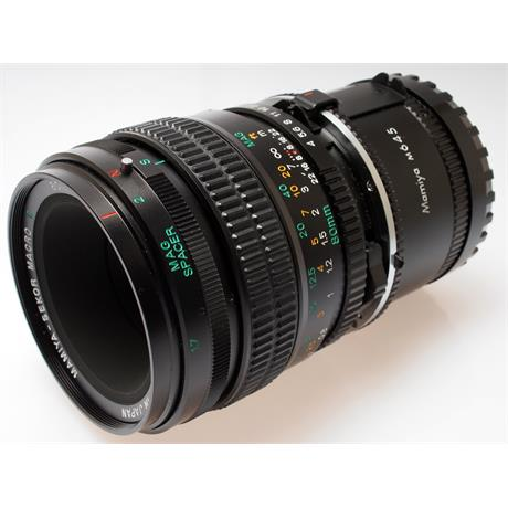 Mamiya 80mm F4 Macro N + Macro Spacer thumbnail