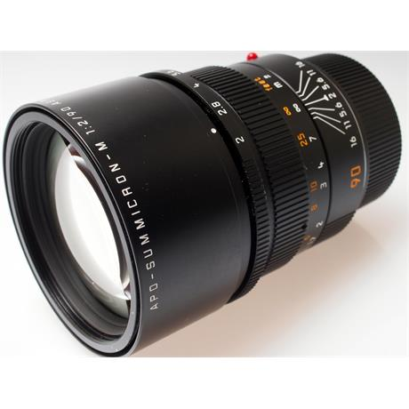 Leica 90mm F2 Apo M Black 6Bit thumbnail