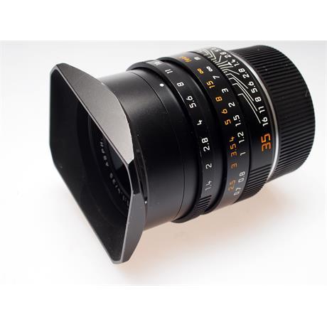Leica 35mm F1.4 Asph M Black 6bit (11663) thumbnail