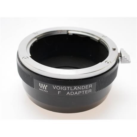 Voigtlander Nikon F - Micro 4/3rds Lens Mount Adapte thumbnail