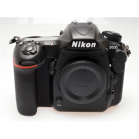 Nikon D500 Body Only thumbnail