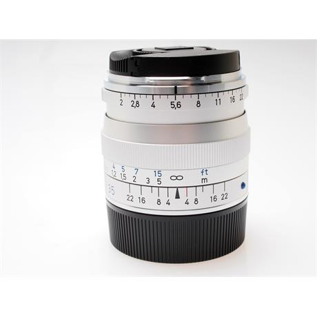 Zeiss 35mm F2 ZM - Silver       thumbnail