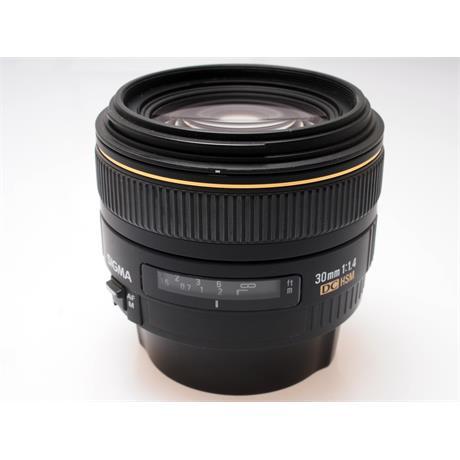 Sigma 30mm F1.4 EX DC HSM - Canon EOS thumbnail