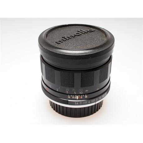 Minolta 58mm F1.4 Rokkor PF thumbnail