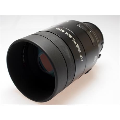 Minolta 500mm F8 AF Reflex thumbnail