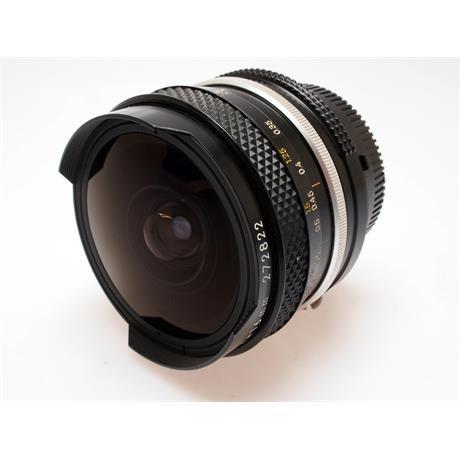 Nikon 16mm F3.5 AI Fisheye thumbnail