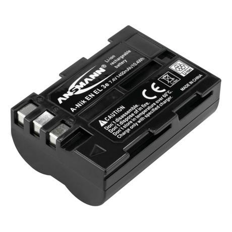 Ansmann EN-EL3e Battery - fits Nikon thumbnail
