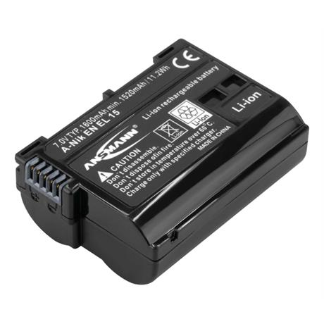 Ansmann EN-EL15 Battery - fits Nikon  thumbnail