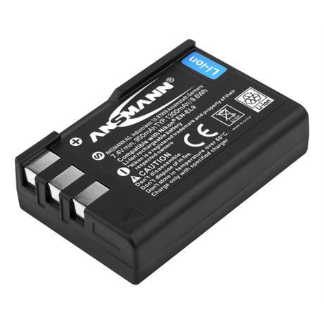 Ansmann EN-EL9 Battery - fits Nikon thumbnail