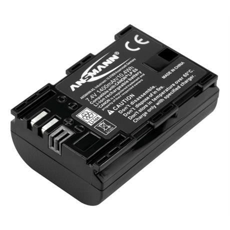 Ansmann LP-E6 Battery - fits Canon thumbnail
