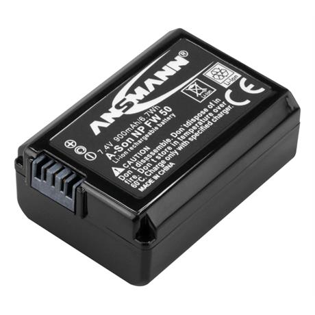 Ansmann NP-FW50 Battery - fits Sony thumbnail