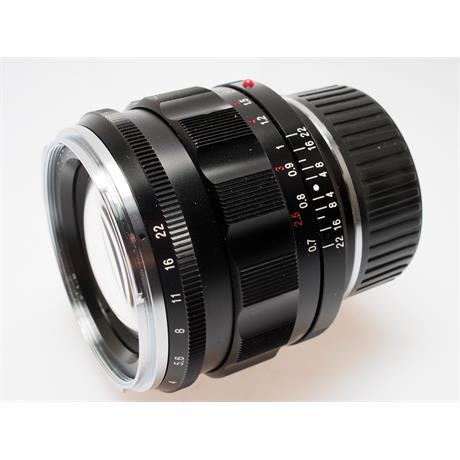 Voigtlander 50mm F1.2 Asph VM Nokton thumbnail