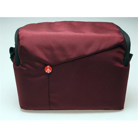 Manfrotto NX Shoulder Bag Bordeaux Red thumbnail