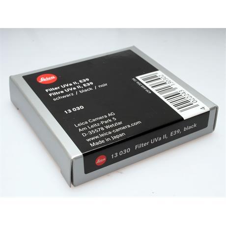Leica E39 UVa II - Black thumbnail