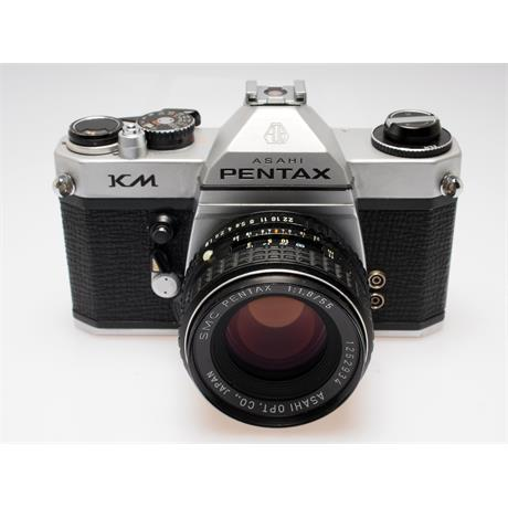 Pentax KM Chrome + 55mm F1.8 SMC thumbnail