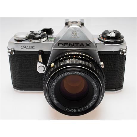 Pentax ME Chrome + 50mm F2 thumbnail