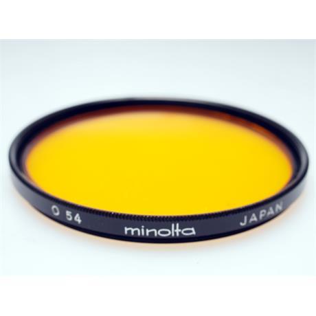 Minolta 55mm Orange (54) thumbnail