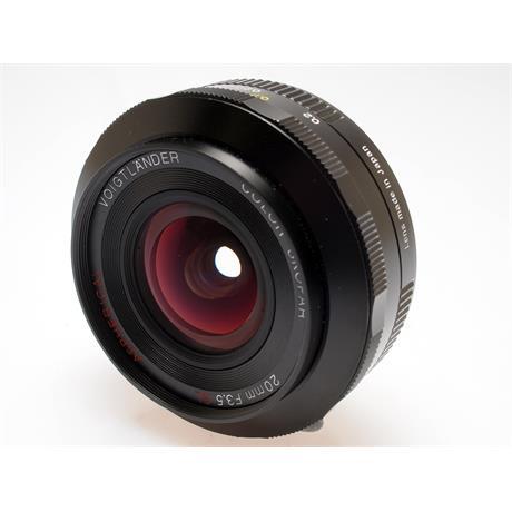 Voigtlander 20mm F3.5 SLII Asph - Canon EOS thumbnail
