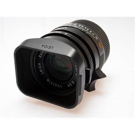 Leica 35mm F2 Asph M Black 6bit thumbnail