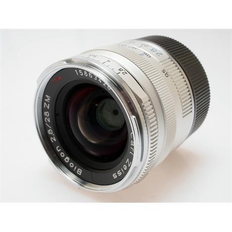Zeiss 28mm F2.8 ZM - Chrome thumbnail