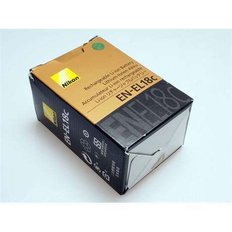 Nikon EN-EL18C Battery thumbnail