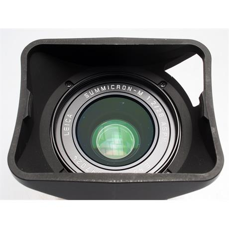 Leica 28mm F2 Asph M Black 6bit thumbnail