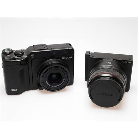 Ricoh GXR + 24-72mm + 50mm F2.5 Macro + VF2 Fi thumbnail