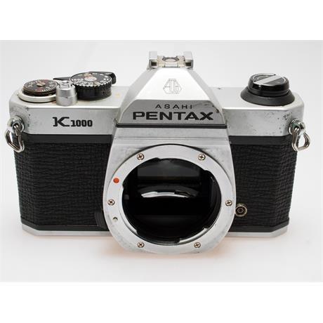 Pentax K1000 Chrome Body Only thumbnail
